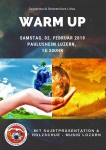 Rotseemöven warm up 2019
