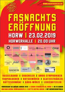 Fasnachts Eröffnung Horw 2019, 23.02.2019